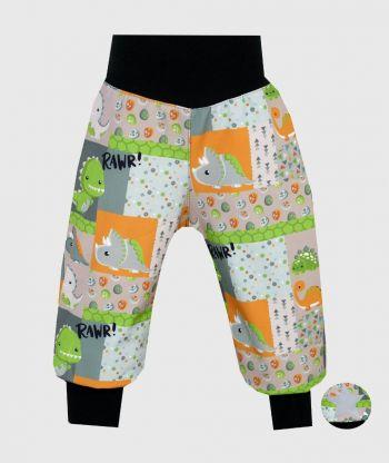 Waterproof Softshell Pants Smiley Dino