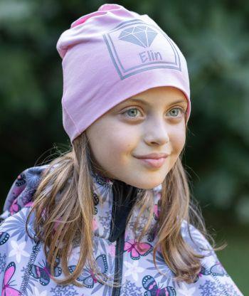 Baggy Hat Pink Reflex Diamond