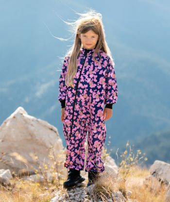 Waterproof Softshell Overall Comfy Girls Jumpsuit