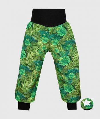 Waterproof Softshell Pants Green Plants