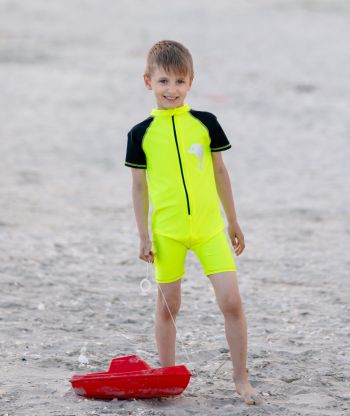Swimsuit Neon Yellow/Black